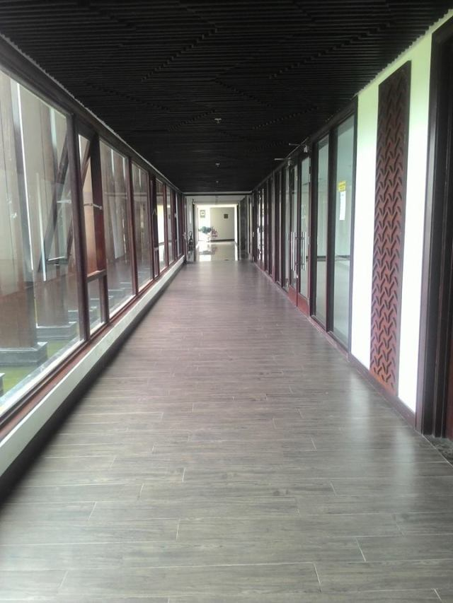 Lối đi dọc hành lang, by Spy Nhí