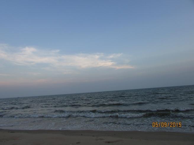 Biển về chiều