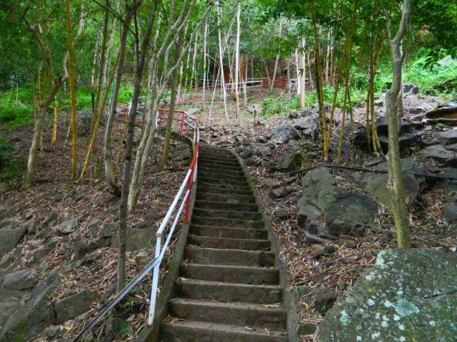 Lối bậc thang, cr: dulich!GO!